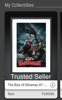 ✅ VeVe NFT The Rise of Ultraman #1 — Adi Granov RARE #86 LOW MINT