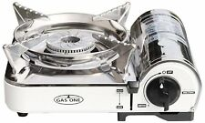 GAS ONE Stainless Steel MINI Portable Butane Camping Stove Free Shipping