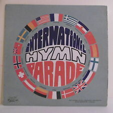 """33T INTERNATIONAL HYMN PARADE Disque LP 12"""" Orch VIENNE B. MERSSON -C. HALL 2549"""