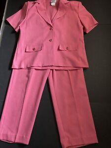 Nikki Suit Jacket & Pants Women's Petite NOTE: Jacket Sz 10P, Pants SZ 12P