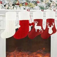 Bas de Noël Chaussettes de Noël Sac de Cadeau Motif Décor Arbre de Noël Chembre