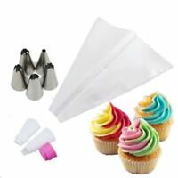 Tool Cake Decorating Tool Icing Piping Bag Two Colors Converter Pastry Nozzles