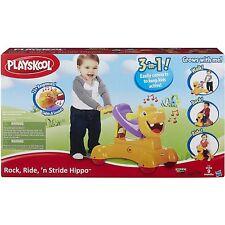 Playskool Rock Ride n Stride Hippo 3 Toys in One NEW