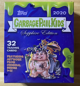 2020 Garbage Pail Kids GPK SAPPHIRE EDITION Pack from New Box Limited Edition