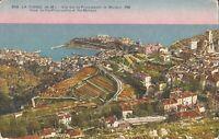 La Turbie, FRANCE - View of Monaco - BIRDSEYE