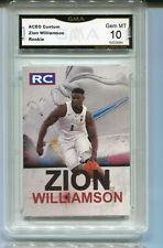 Zion Williamson Shoe Phenom  Rookie Gem Mint 10