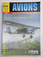AVIONS N° 111 /Bréguet 270/Blackburn Buccaneer/le Koolhoven FK-51/l'URSS en 39