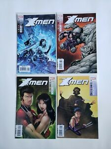 2007 New X-Men Mercury Falling Complete Set of 4 Comics 1-4  33-34-35-36