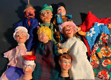 Punch and Judy Hand Puppets Lot For You