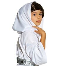 Girl PRINCESS LEIA Costume Dress Wig Belt Pant Child SMALL 5 6 DISNEY Star Wars