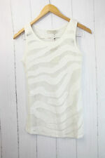Cream Shirt Top  Gr XS  ❤  Leichte, luftige Sommer-Top Netz Optik Neu