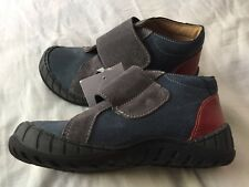 Vertbaudet BNWT Boys Leather Touch and Close Velcro Shoes Boots EU29 UK 11
