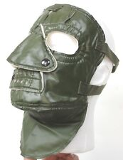 GENUINE NATO ARMY EXTREME COLD WEATHER FACE MASK GREEN PVC