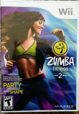 Zumba Fitness 2 Nintendo Wii Original Replacement case-NO GAME INCLUDED