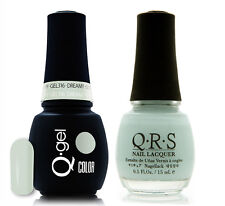 Gel & Polish QRS Beauty Combo MAT316 Dreamy Neon Light Blue