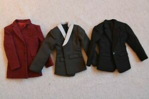 """1/6 Scale Action Figure 3 x Stylish Casual Jackets 12"""" Enterbay Ken Hot Toys"""