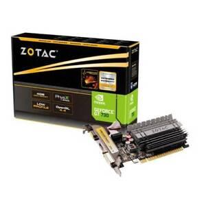 ZOTAC NVIDIA GeForce GT 730 4GB DDR3 VGA/DVI/HDMI Low Profile PCI-E Video Card