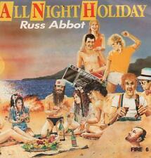 "Russ Abbot(7"" Vinyl P/S)All Night Holiday-Spirit-FIRE 6-UK-1985-VG+/VG"