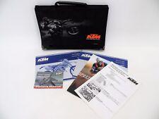 2003 KTM 125SX 125 SX Manuals Owners Manual KTM Storage Bag Manual Case