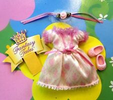 Kelly Chelsea Doll Clothes *VHTF Mauve/Pink Fantasy Tales Dress/Hairpc/Shoes*