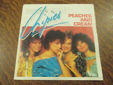 45 tours the chipies peaches and cream