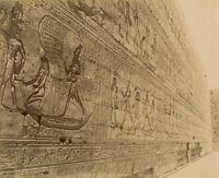 Photo Zangaki Albuminé Egypte Mythologie Vers 1875/80