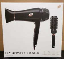 T3 Featherweight Luxe 2i 73870 Pro Hair Dryer - Black - New, Sealed in Box (D1)