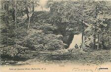 1906 Falls Second River Belleville New Jersey undivided postcard 5179