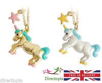 "Unicorn Necklace Fantasy Fairy Tale Horse Kawaii Cute Kitsch Fantasy 18"""
