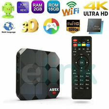 A95X R2 Smart TV Box 2GB+16GB S905W Quad-Core Android 7.1 HDR 4K 3D WIFI UK