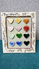 "Depth of Our Love 2"" X 2"" picture frame from Blue Sky Clayworks by H. Goldminc"