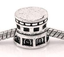 Colosseum of Rome Italy Trip Coliseum Bead for Silver European Charm Bracelet