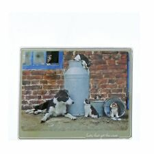 Kitchy and Co A29166 Cats That Got The Cream Collie Trivet Small