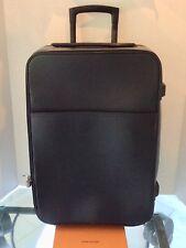 LOUIS VUITTON PEGASE 55 Taiga Black Travel Carry-on Luggage SP2027 Auth Lockset
