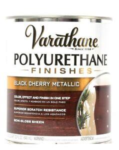 1 Varathane 32 Oz Polyurethane Finishes 287760 Black Cherry Metallic Semi Gloss