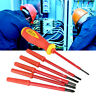 7pcs/set Multifunction Insulated Slot Cross Electrician Screwdrivers Set