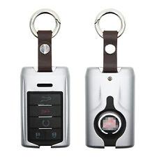 Aluminium Alloy 5 button Key Silver Case for 2007-2014 Cadillac Escalade ESV EXT
