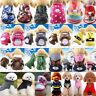 Cartoon Small Dog Vest Fashion Puppy Clothes Warm Hoodie Sweater Pet Cat Apparel