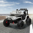 12V Electric kids Police Ride On Car 3 speeds Toy truck SUV Gift with Remote
