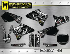Yamaha YZ 125 250 1996 up to 2001 graphics decals stickers kit Moto StyleMX