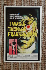 I was a teenage Frankenstein Lobby Card Movie Poster