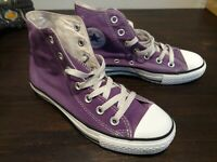Converse Chuck Taylor All Star Hi Top Women's Size 6 Men's 4 in Purple