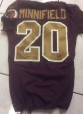 2014 Redskins Game Worn Throwback Jersey  (Chase Minnifield)