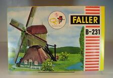 Faller H0 B-231 Windmühle mit 12/16 Volt Motor in OVP #1319