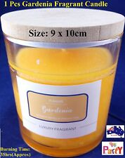 35 Hrs Gardenia Luxury Highly home Fragrant Cheap Scented Candle Crackling Wood