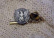 """vintage BOYS SCOUT eagle --- """"D A D"""" --- lapel pin / with safety cap!!"""