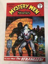 Bob Burden Mystery Men Stories #1 Ltd Version A Text Edition Comic Book. Rare Bo