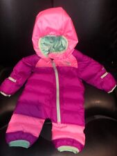 North Face  Bunting Infant Snowsuit Pink 0/3 Months