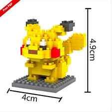 Pikachu Pokemon Go Pikachu Mini Figure Nano block