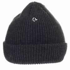 Volcom Heather Cuff beanie ~ Full Stone charcoal